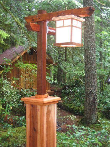 wood lamp post plans plans diy   treasure box