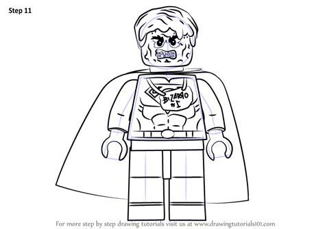 learn   draw lego bizarro lego step  step drawing tutorials