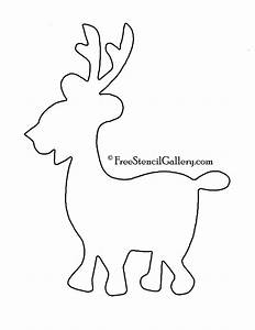 caribou outline related keywords caribou outline long With reindeer tail template