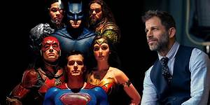 Zack Snyder Supports Justice League Cut Theory | Screen Rant