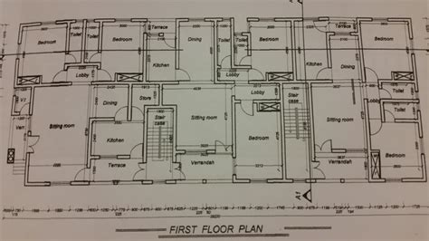 plan flat bedroom properties nigeria