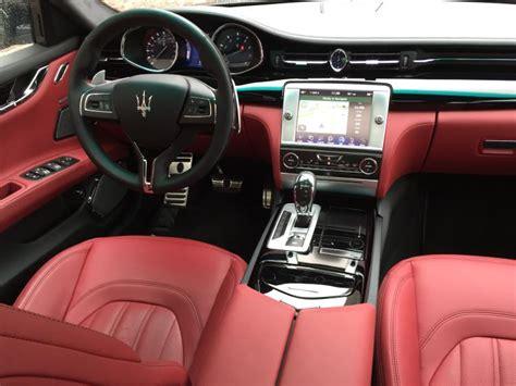 maserati black interior maserati quattroporte red interior idea di immagine auto