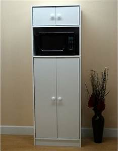 Microwave pantry cabinet with microwave insert for Microwave pantry cabinet with microwave insert white