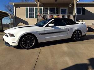 High Performance White 2011 Ford Mustang GT CA Special For Sale - MustangCarPlace