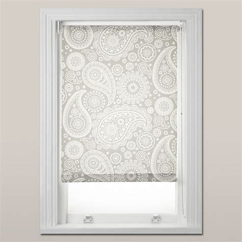 Kitchen Blinds At Lewis by Buy Mini Moderns Paisley Daylight Roller Blind White