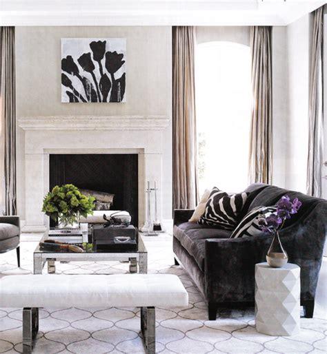 Dark Brown Velvet Sofa  Transitional  Living Room Elle