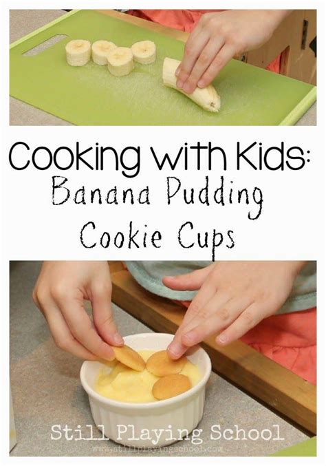 Cooking School Recipes by Banana Pudding Cookie Cups In 2019 Cooking With