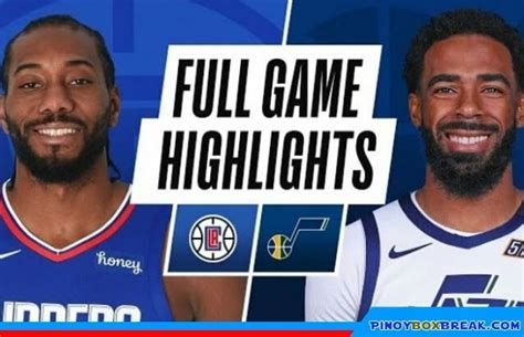 See the live scores and odds from the nba game between jazz and clippers at staples center on december 18, 2020. NBA Full Game Highlights: Utah Jazz (UTA) Vs Los Angeles ...