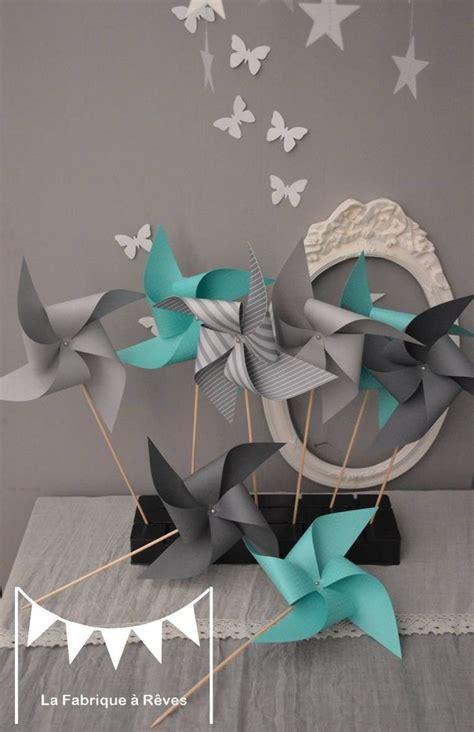 chambre bébé turquoise et gris dispo 10 moulins à vent turquoise et gris décoration