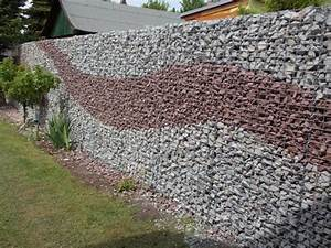 Gabionen Sichtschutz Terrasse : gabionen kann man auch als zaun f r den garten nutzen ~ A.2002-acura-tl-radio.info Haus und Dekorationen