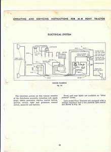 Mf 65 Wiring Diagram  65 Wiring Diagram Massey Harris
