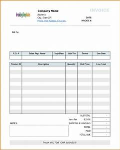 free online invoices printable venturecapitalupdatecom With free invoices online printable