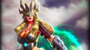 Competition Win Freya And Her Valkyrie Alternate Skin In