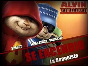 ALVIN & LAS ARDILLAS BAILANDO Y CANTANDO REGGAETON 2014 DALE ME GUSTA YouTube