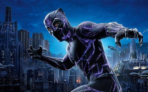 Black Panther 4k Movie Poster 2018, Hd Movies, 4k