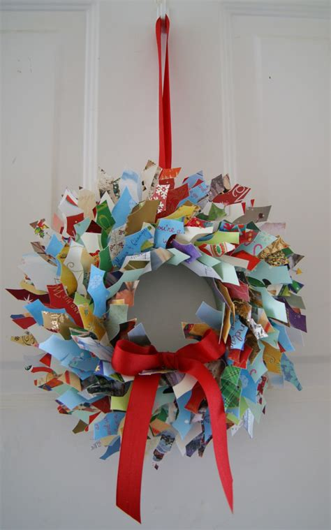 crafty sy christmas card wreath