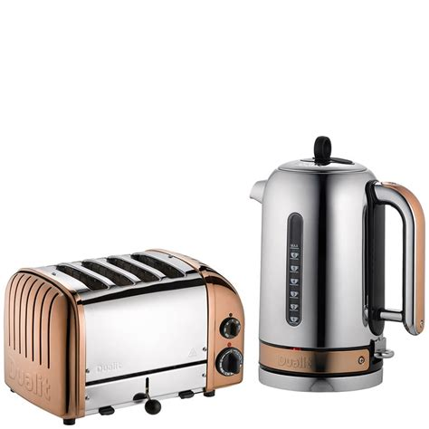 kettle and toaster dualit classic vario 4 slot toaster kettle bundle