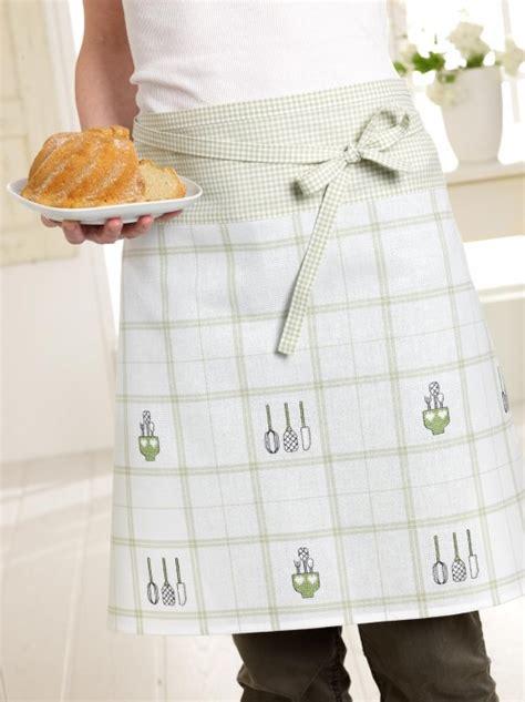 broderie tablier cuisine tablier de cuisine vert blanc du livre 119