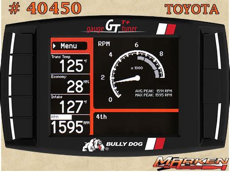 bully dog tuners gas light  heavy duty diesel