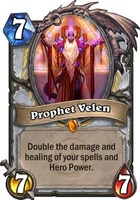 Prophet Velen Deck Tgt by Prophet Velen Hearthstone Card