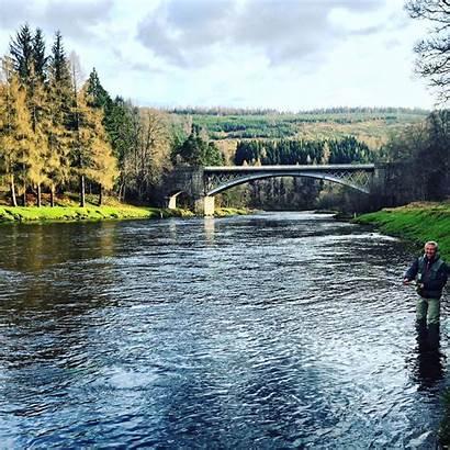 Broen Ffr Spey River Beat Carron Historiske