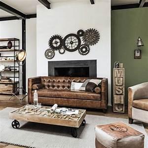 Deco Maison Industriel : meubles et d coration de style industriel loft factory ~ Teatrodelosmanantiales.com Idées de Décoration