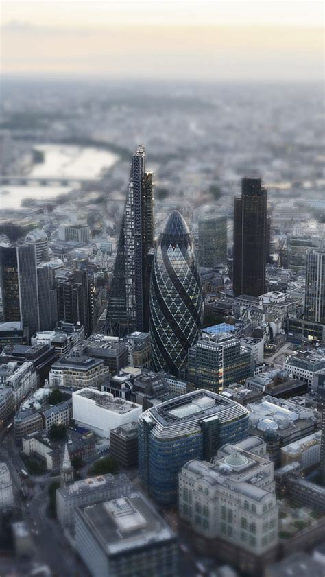London Aerial Miniature View Iphone 5 Wallpaper Hd Free