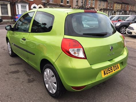 renault green used green renault clio for sale kent