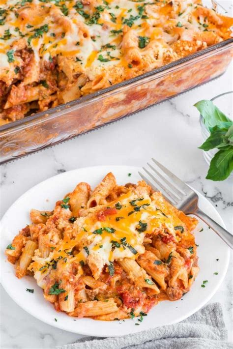 Ziti is loaded with creamy sauce, meatballs, and chunks of veggies. How to Meal Plan for the Week & Free Printable Meal Planner - Polished Habitat