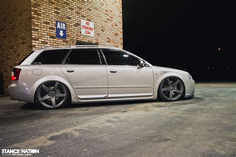 slammed audi wagon slammed audi stanced wagon ideas pinterest