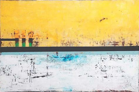 Wax Boat Dock by Gibbs The Docks 2013 24 X 36in Artist Oils And