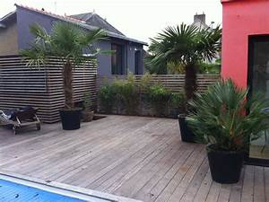 paysagisme et creation de jardins pepiniere la maison du With amenagement piscine en bois 7 creation terrasse nantes loire atlantique terrasse de
