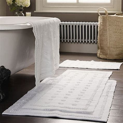 large bathroom mat large toulon bath mat the white company us for