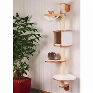 Arbre A Chat Moderne : lit chat accueillir un chat preparer sa maison pour un chien ~ Melissatoandfro.com Idées de Décoration