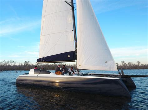 stiletto catamarans