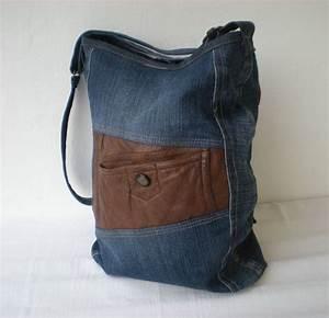 Retro Rucksack Selber Nähen : jeanstasche upcycling borsa von gasani auf jeanstaschen pinterest jeans ~ Orissabook.com Haus und Dekorationen