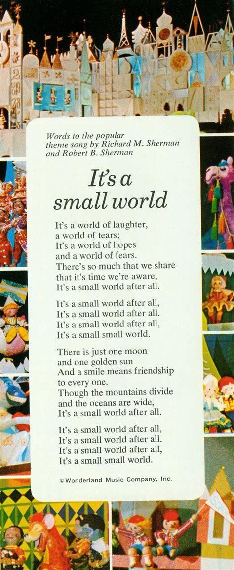 lyrics disney song songs quotes stuck music its words walt fun magic own risk dream read being dolls disneyland stuff