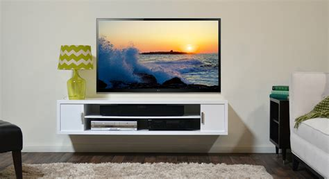 Flat Screen Tv Wall Cabinets Offering Space-saving