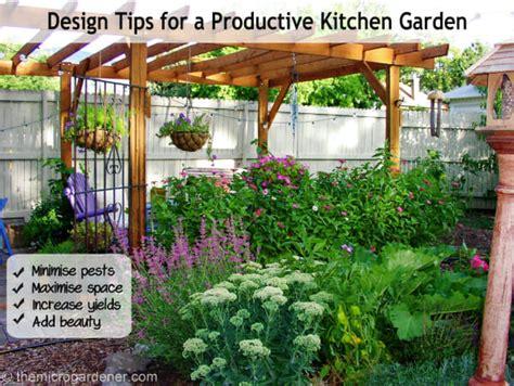 Design Tips For A Productive Kitchen Garden  The Micro
