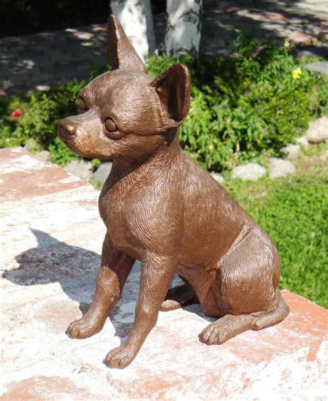 Chihuahua Garden Statue by Chihuahua Garden Statues Pets And Dogs