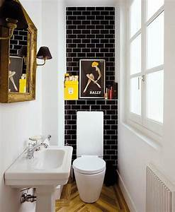 Cool small bathroom with pop colors for Pictures of cool bathrooms