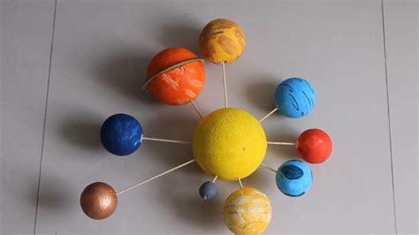 como fazer uma maquete de um planeta  passos