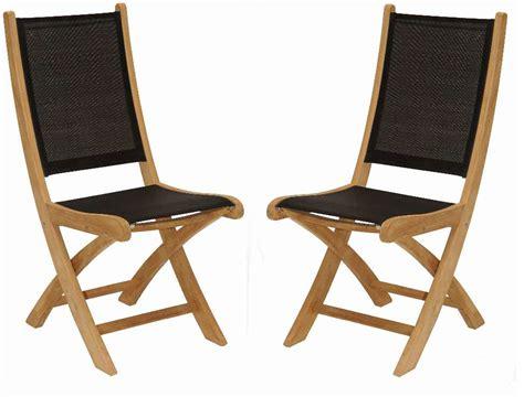chaise de jardin bois chaise de jardin en bois et tissu
