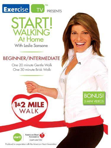 Amazon.com: Start! Walking with Leslie Sansone 1 & 2 Mile