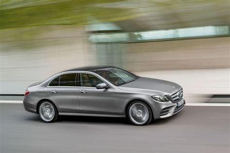 mercedes classic 2017 2017 mercedes benz e class debuts with sleek looks tons