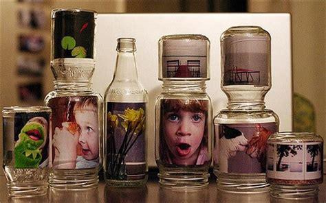diy glass jar photo frames gift ideas