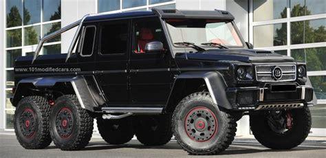 Modified Mercedes-benz G63 W463 Amg 6 Wheels Http