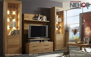 Wohnzimmer Massivholzmbel
