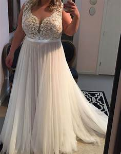Plus size wedding dressbeach wedding dress wedding for Beach plus size wedding dresses