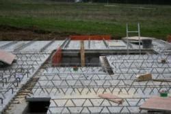 kellerdecke dämmen styropor filigran betonfertigelemente als kellerdecke bauunternehmen
